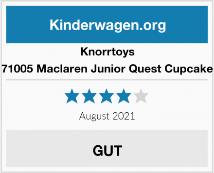 Knorrtoys 71005 Maclaren Junior Quest Cupcake Test