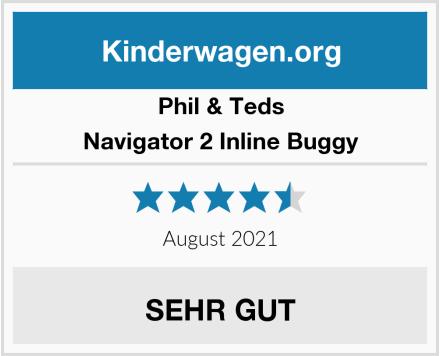 Phil & Teds Navigator 2 Inline Buggy Test
