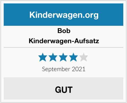 Bob Kinderwagen-Aufsatz Test