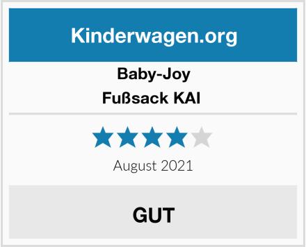 Baby-Joy Fußsack KAI  Test