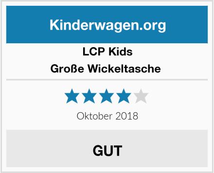 LCP Kids Große Wickeltasche  Test