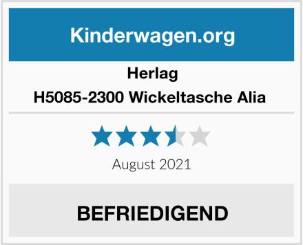 Herlag H5085-2300 Wickeltasche Alia  Test