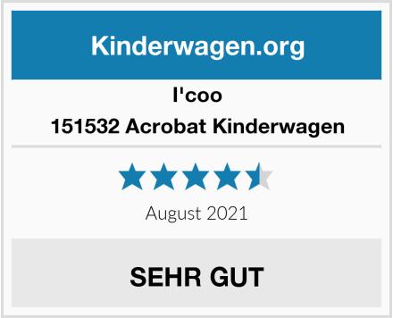 iCOO 151532 Acrobat Kinderwagen Test