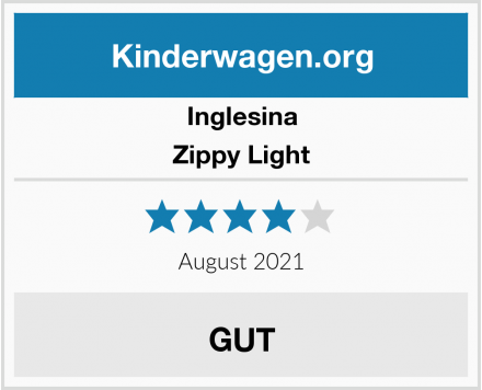 Inglesina Zippy Light Test