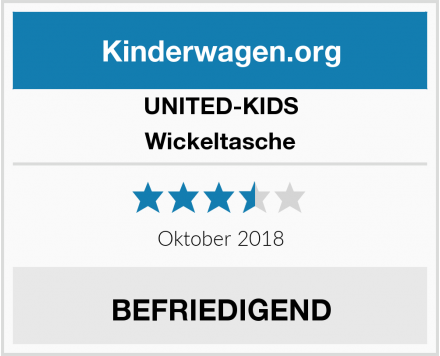 UNITED-KIDS Wickeltasche Test