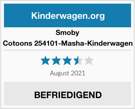 Smoby Cotoons 254101-Masha-Kinderwagen Test