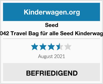 Seed 93042 Travel Bag für alle Seed Kinderwagen Test