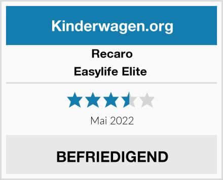 Recaro Easylife Elite  Test