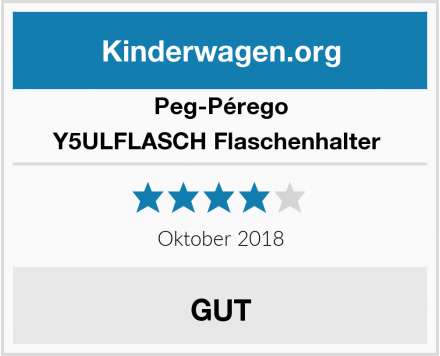 Peg-Pérego Y5ULFLASCH Flaschenhalter  Test