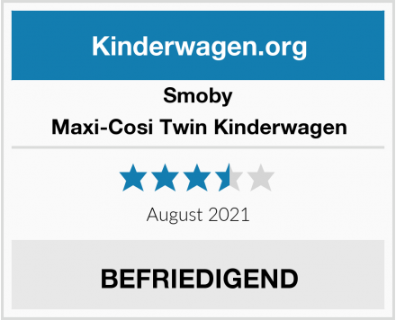 Smoby Maxi-Cosi Twin Kinderwagen Test