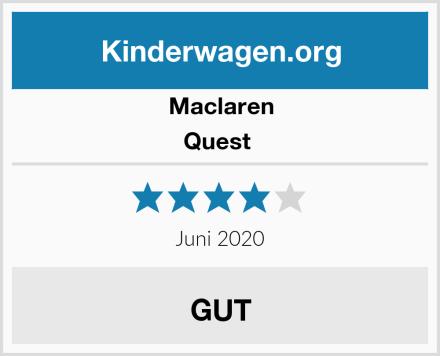 Maclaren Quest  Test