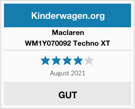 Maclaren WM1Y070092 Techno XT Test