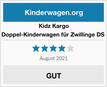 Kidz Kargo Doppel-Kinderwagen für Zwillinge DS  Test