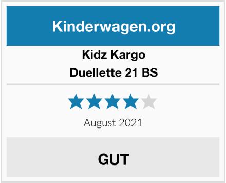 Kidz Kargo Duellette 21 BS Test