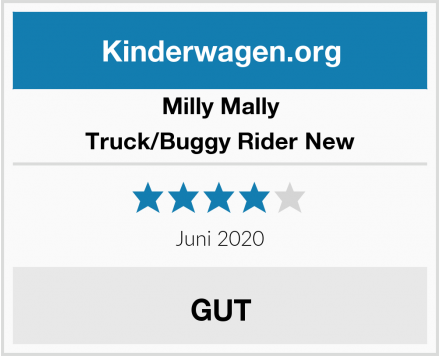 Milly Mally Truck/Buggy Rider New Test