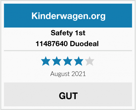 Safety 1st 11487640 Duodeal  Test