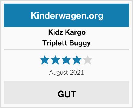 Kidz Kargo Triplett Buggy Test