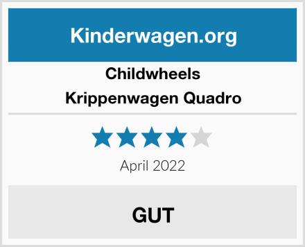 Childwheels Krippenwagen Quadro Test