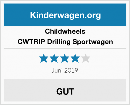 Childwheels CWTRIP Drilling Sportwagen Test