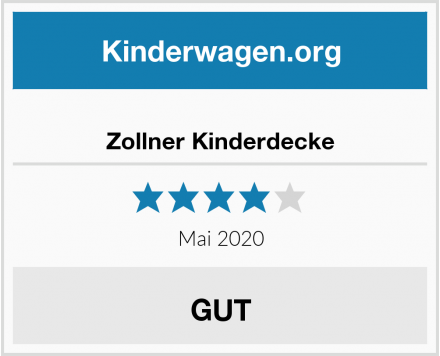 Zollner Kinderdecke Test