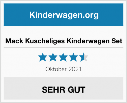 no name Mack Kuscheliges Kinderwagen Set Test