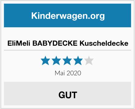 no name EliMeli BABYDECKE Kuscheldecke Test