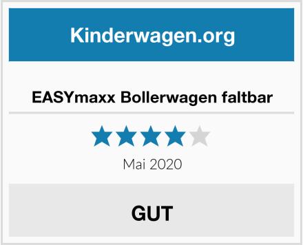 EASYmaxx Bollerwagen faltbar Test