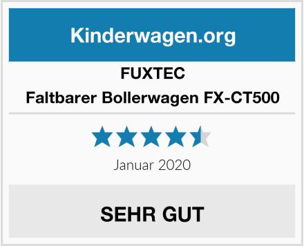 Fuxtec Faltbarer Bollerwagen FX-CT500 Test