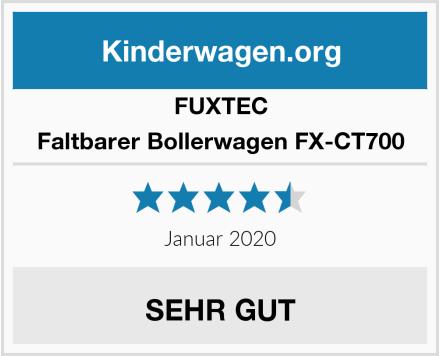 Fuxtec Faltbarer Bollerwagen FX-CT700 Test