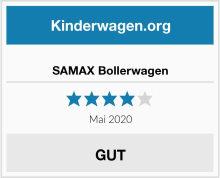 SAMAX Bollerwagen Test