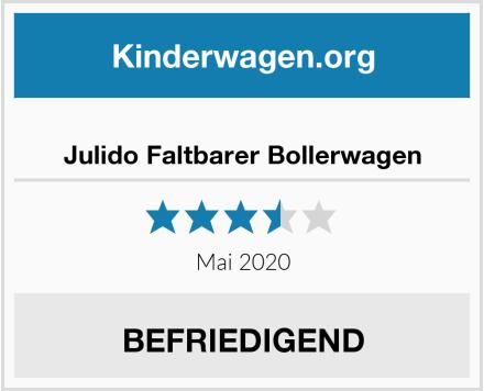 no name Julido Faltbarer Bollerwagen Test