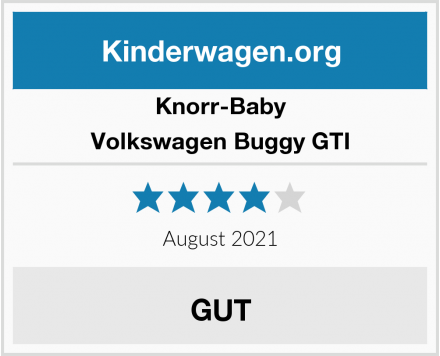 Knorr-Baby Volkswagen Buggy GTI Test