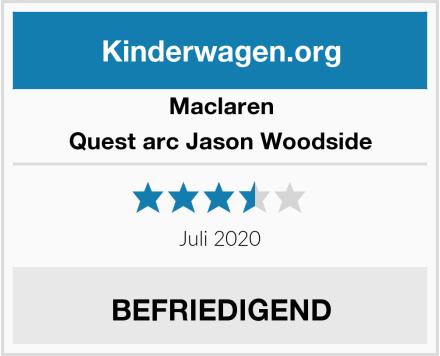 Maclaren Quest arc Jason Woodside Test