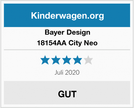 Bayer Design 18154AA City Neo Test