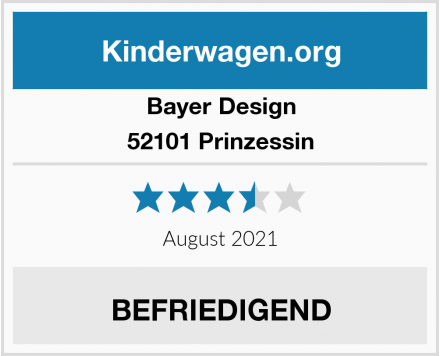 Bayer Design 52101 Prinzessin Test