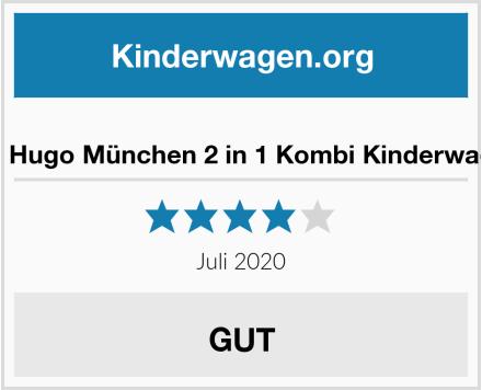 Friedrich Hugo München 2 in 1 Kombi Kinderwagen Sand Test
