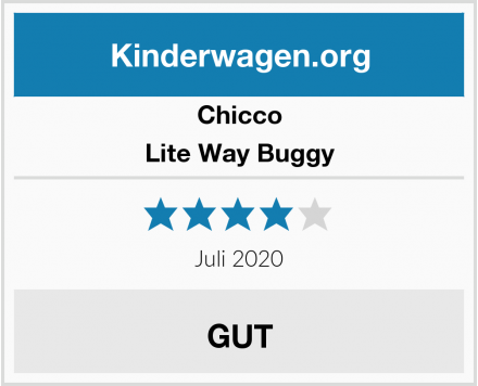Chicco Lite Way Buggy Test