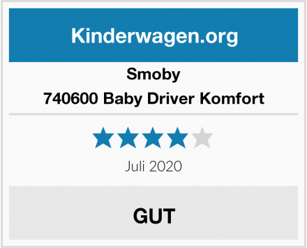 Smoby 740600 Baby Driver Komfort Test