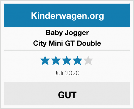 Baby Jogger City Mini GT Double Test