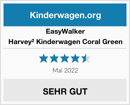 EasyWalker Harvey² Kinderwagen Coral Green Test