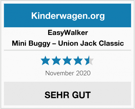 EasyWalker Mini Buggy – Union Jack Classic Test