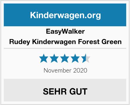 EasyWalker Rudey Kinderwagen Forest Green Test