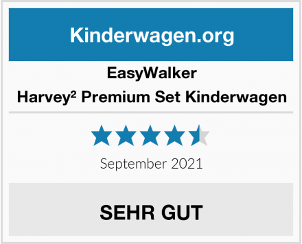 EasyWalker Harvey² Premium Set Kinderwagen Test
