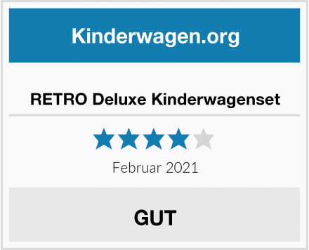 RETRO Deluxe Kinderwagenset Test