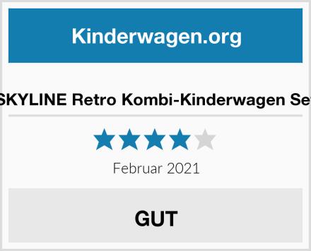 SKYLINE Retro Kombi-Kinderwagen Set Test