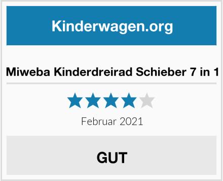 Miweba Kinderdreirad Schieber 7 in 1 Test