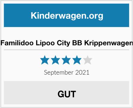 Familidoo Lipoo City BB Krippenwagen Test