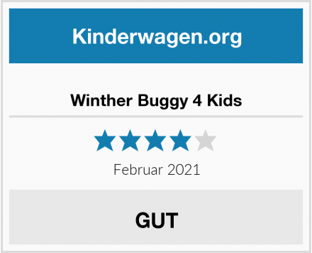 Winther Buggy 4 Kids Test