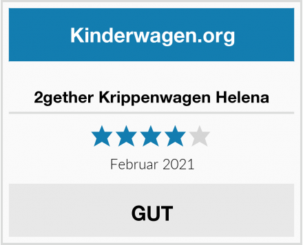 2gether Krippenwagen Helena Test