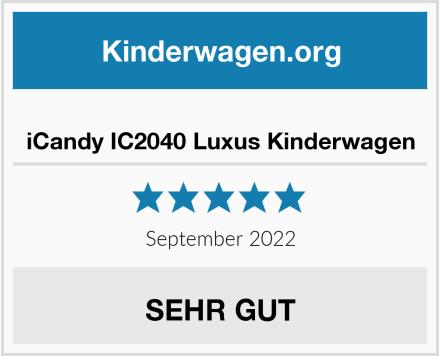 iCandy IC2040 Luxus Kinderwagen Test